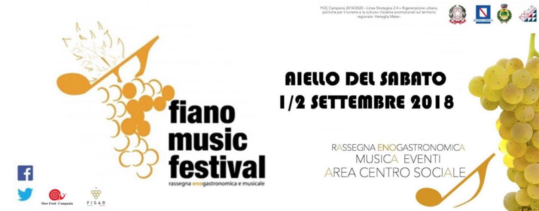 Fiano Music Festival, parte la sedicesima edizione: venti cantine proporranno i propri vini