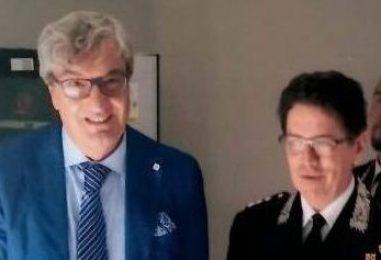 Il Prefetto Cappetta in visita ai Carabinieri della Forestale