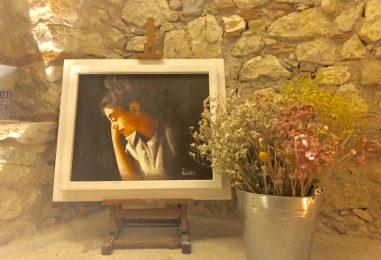 """""""Leggere tra le… rughe"""", la mostra della pittrice Di Donato che racconta i segni del tempo"""