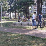 """L'amministrazione Ciampi ripulisce Parco Kennedy. Mingarelli: """"Bisogna sensibilizzare i cittadini"""""""