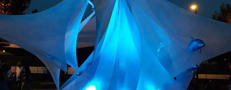 FOTO/ Le lanterne fluttuanti incantano piccoli e grandi