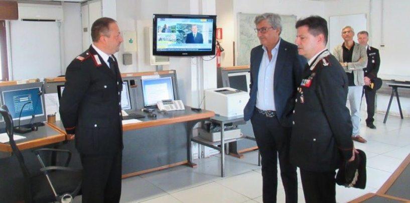 Benevento, il Prefetto visita la Centrale Operativa dell'Arma