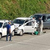Tamponamento a catena nei pressi di Montemiletto: coinvolte quattro auto