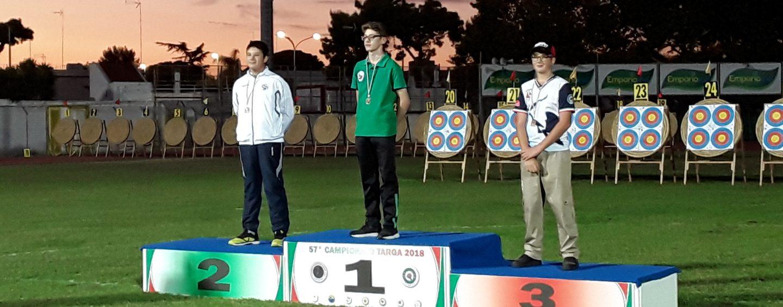 L'irpino Cantelmo medaglia d'oro ai Mondiali di tiro con l'arco