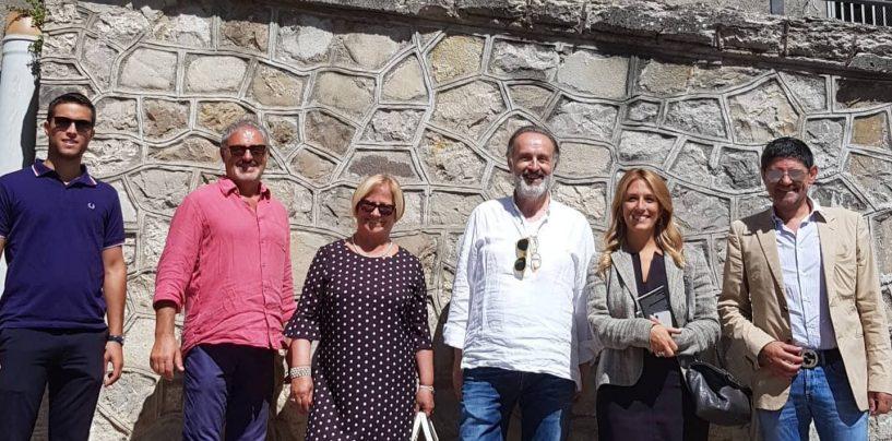 Cairano, D'Amelio e Marciani in visita alla masterclass di Franco Dragone