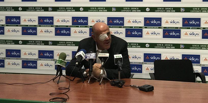 """L'Avellino frena e Graziani si arrabbia: """"Under da calci nel culo, si sveglino"""""""