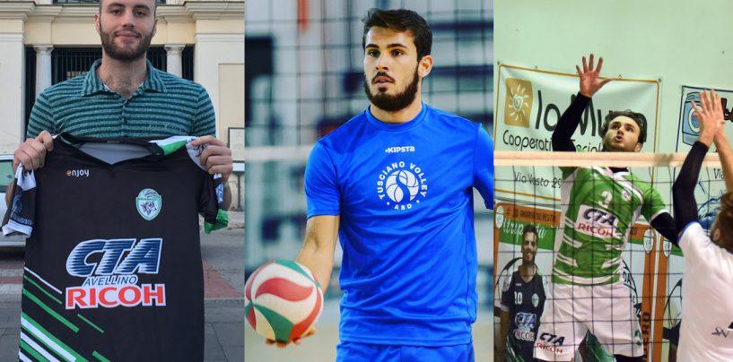 Atripalda Volley, tre giovani per completare il roster: obiettivo salvezza