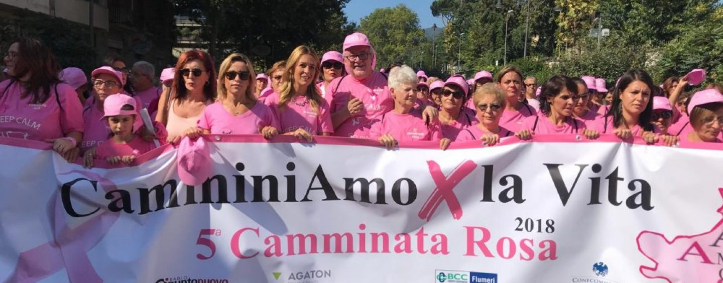The Power of a Pink: a San Nicola Baronia si presenta la Camminata Rosa