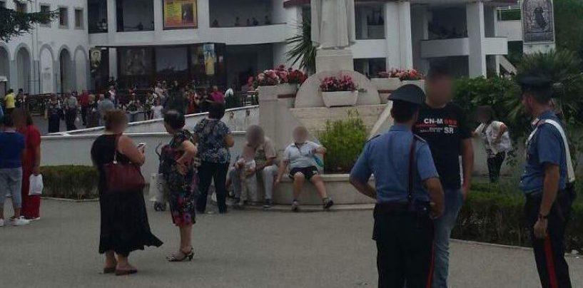 Caposele, raffica di controlli durante i festeggiamenti di San Gerardo: scoperto parcheggiatore abusivo