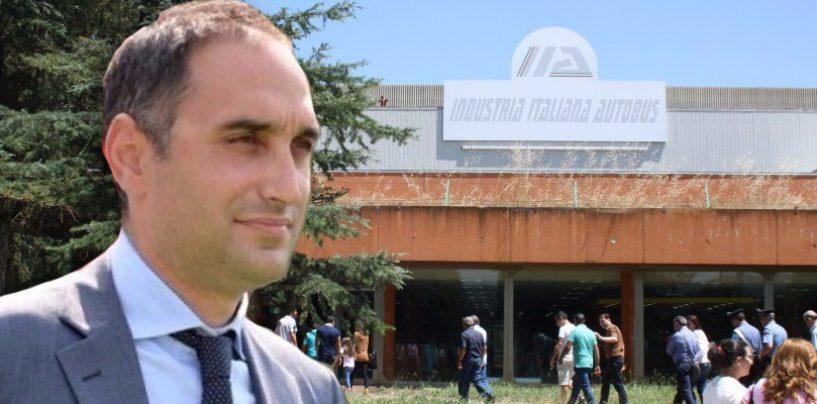 """Ex Irisbus, Gubitosa: """"Da Di Maio grandi notizie per i lavoratori. M5S unico cambiamento"""""""