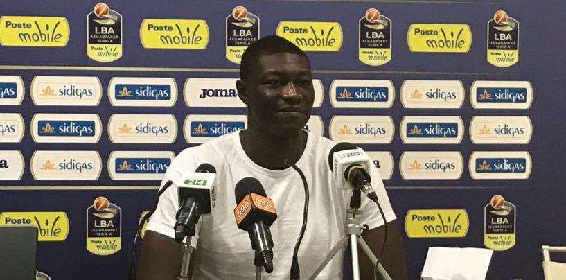 """Sidigas, N'Diaye is back: """"Qui per finire quello che ho iniziato. Faremo meglio dell'anno scorso"""""""