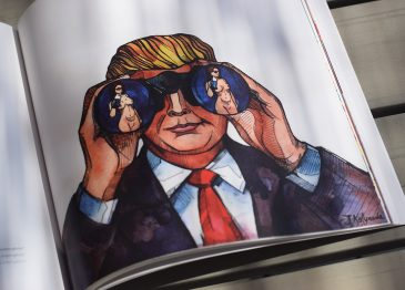 I tweet di Donald Trump raccolti e illustrati in un libro