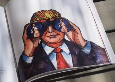 I tweet di Donald Trump raccolti e illustrati in un libro