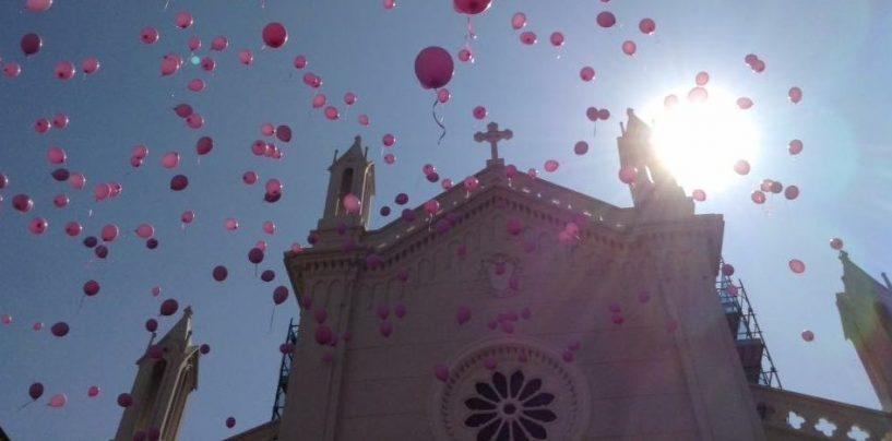 L'Irpinia si tinge di rosa e marcia per la prevenzione