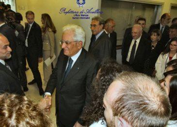 Il Presidente Mattarella a Biogem, la fotogallery della visita