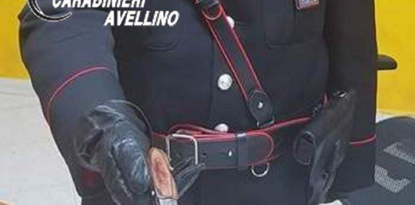 In giro con coltello a serramanico: 45enne nei guai