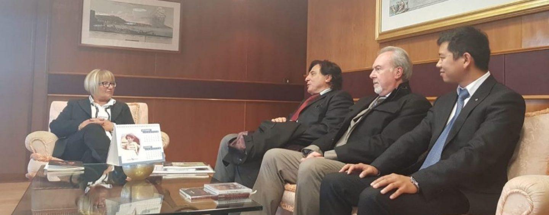 Scambi culturali, la D'Amelio incontra componente dell'ambasciata cinese