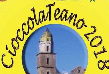 Tutto pronto per CioccolaTeano: l'evento più dolce di ottobre