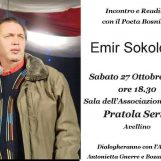 Pratola Serra, l'associazione Agorà incontra il poeta bosniaco Emir Sokolović
