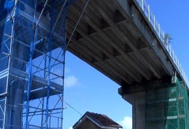 Ponte Ofantina, lavori a rilento. Proteste da Parolise