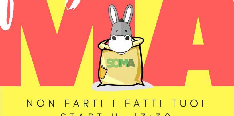 Primo Festival della Solidarietà della Rete Soma, appuntamento a fine ottobre