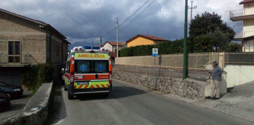Si arrende l'uomo barricato in casa: ricoverato al Landolfi di Solofra