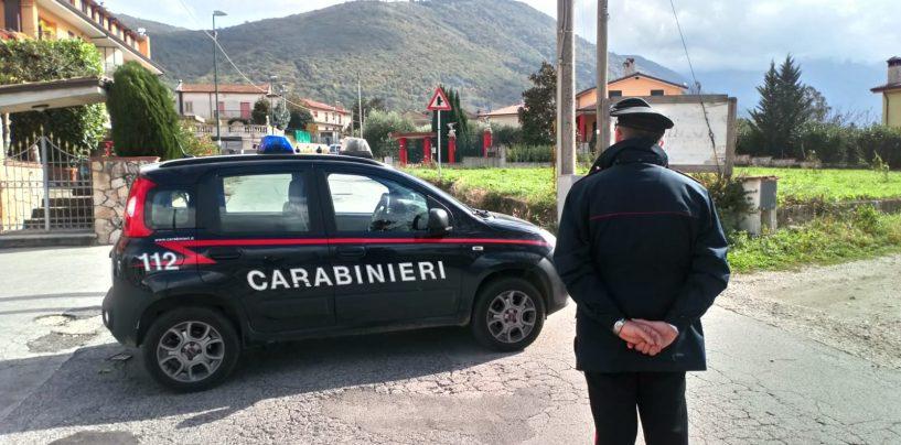 Notte di fuoco a San Martino Valle Caudina: due veicoli in fiamme