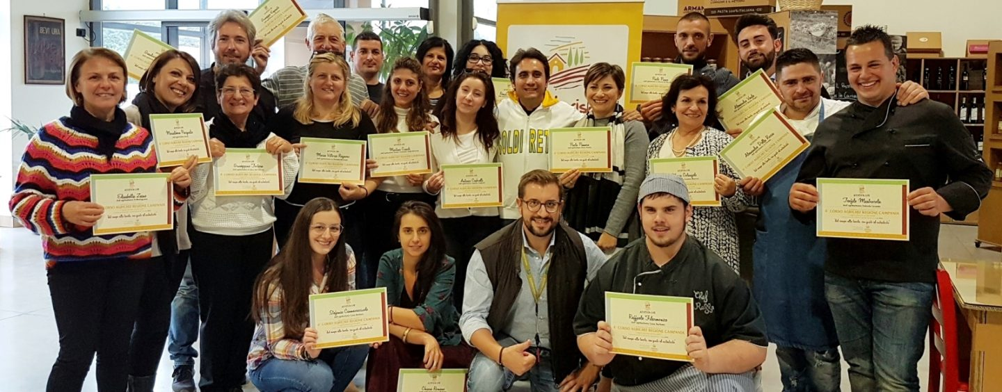 Agrichef Academy, nuovi diplomati in Irpinia