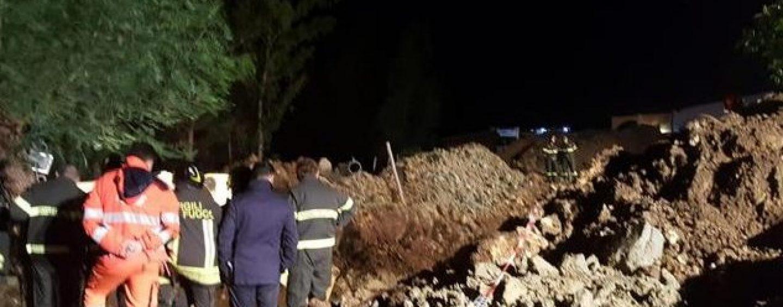 Maltempo, sepolti da una frana nel Crotonese: quattro morti