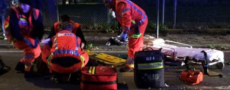 Choc sul raccordo Salerno-Avellino: vede il cadavere del 17enne e muore