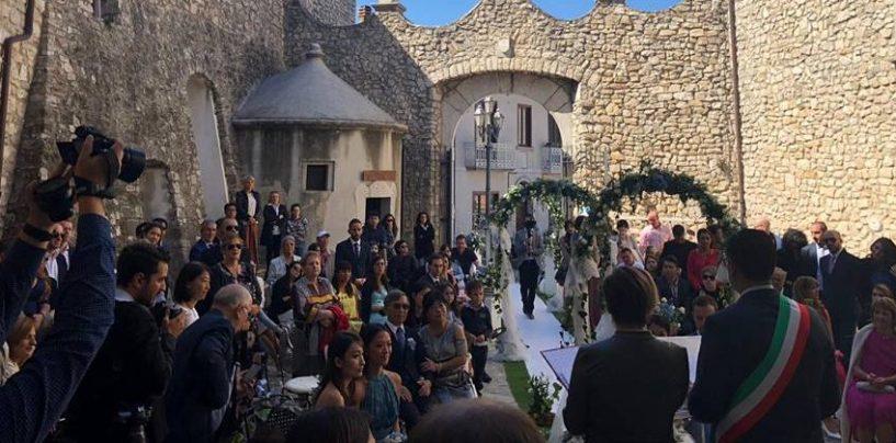 Il castello di Montemiletto diventa meta di wedding tourism