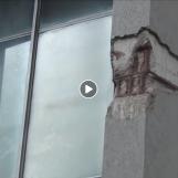 VIDEO/ Ci Vuole Costanza – I pilastri del tribunale di Avellino sono in pessime condizioni