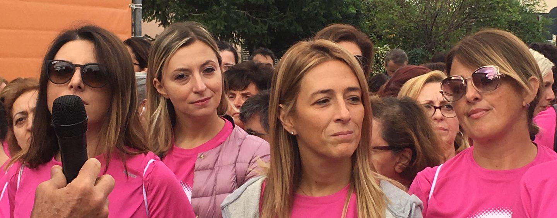 FOTO/ De Vizia Sanità: successo per la seconda edizione della Pink Race