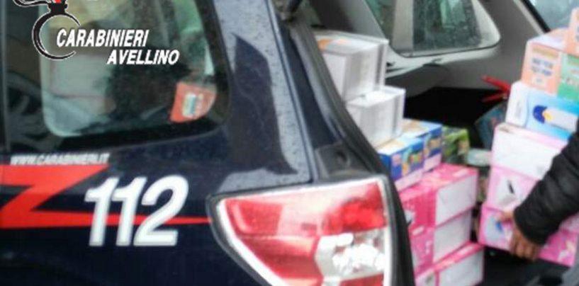 Giocattoli e prodotti cinesi a rischio: sequestri in Irpinia