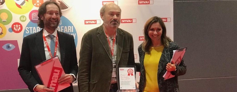 "Eccellenza ""Oasis"": l'Irpinia che innova premiata allo Smau di Milano"