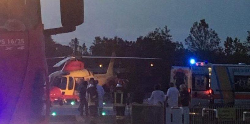 Scontro frontale a Caposele: ragazza trasportata in elicottero al Cardarelli