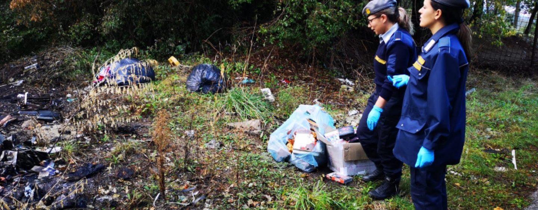 FOTO/ Le Guardie Ambientali Centro Italia in azione a Montoro: presto l'installazione delle fototrappole