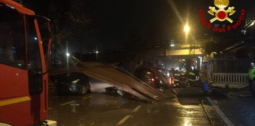 FOTO/ Maltempo in Irpinia, oltre cinquanta interventi dei Vigili del Fuoco. Paura per due automobilisti