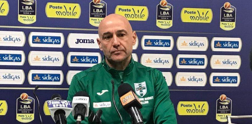 """""""Pronto al debutto in A. Io un innovatore? Lo sono tutti i coach"""". Sidigas, Vucinic scalpita"""