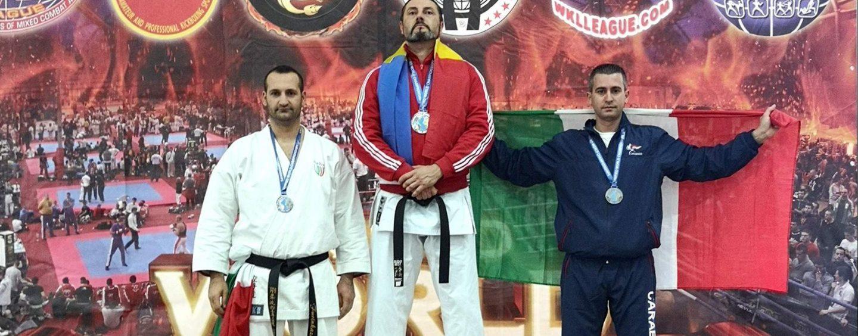 Campionato del Mondo di Arti Marziali: sul podio anche l'Arma dei Carabinieri di Avellino