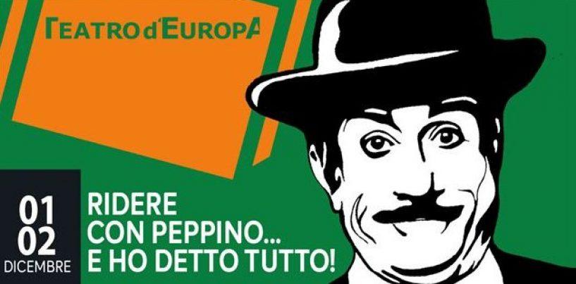 Il Teatro d'Europa omaggia il celebre attore Peppino De Filippo