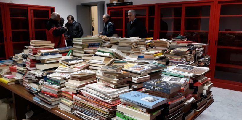 """Eliseo, la biblioteca intitolata a Pasquale Stiso. Speranza: """"Momento importante,ma il lavoro da fare è tanto"""""""