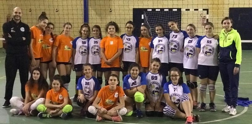 Academy School Volley: l'Under 14 femminile travolge Montoro