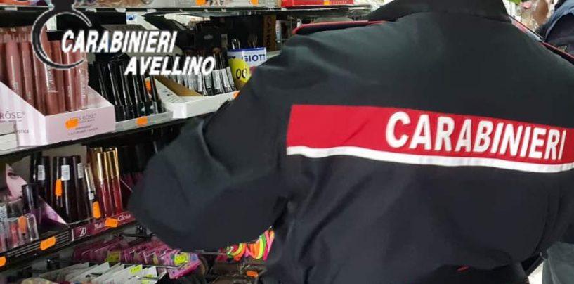 Prodotti a rischio in vendita: maxi sequestro dei Carabinieri