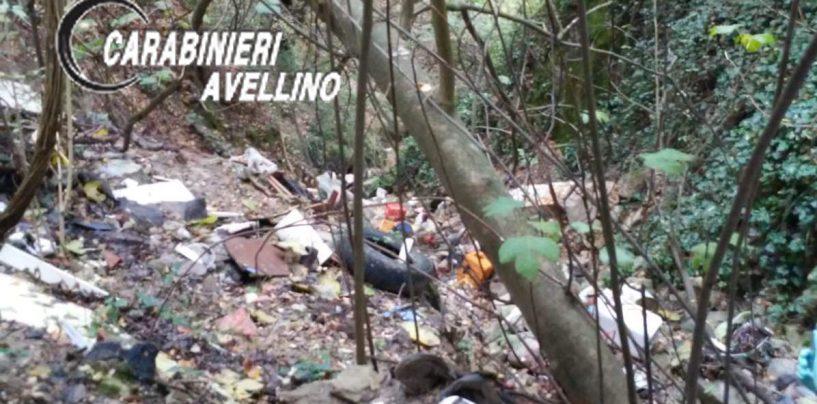 Discarica abusiva in montagna, arrivano i Carabinieri