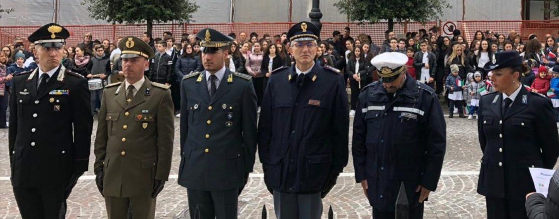 A Sant'Angelodei Lombardi la cerimonia commemorativa dei caduti e la Festa delleForze Armate