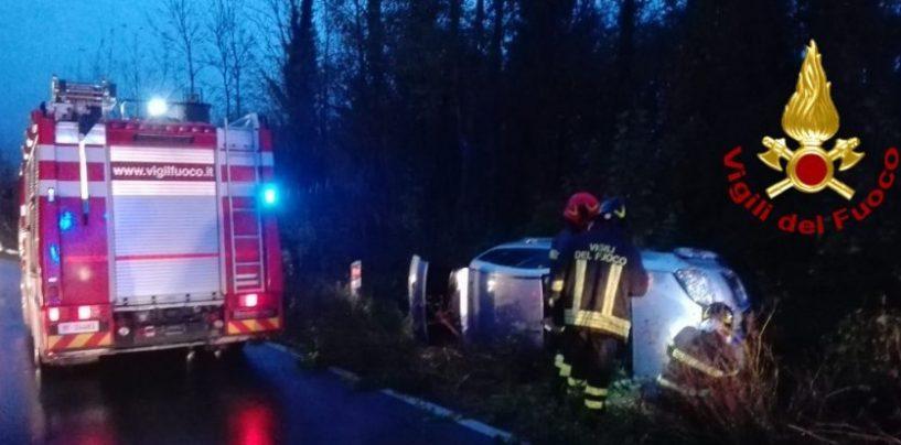 Incidente sulla Variante e incendio a Montefalcione: doppio intervento dei caschi rossi