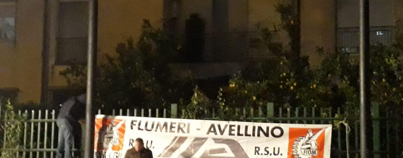 Ex Irisbus, è ancora sciopero. Sit-in dei lavoratori a Roma sotto la sede di IIA