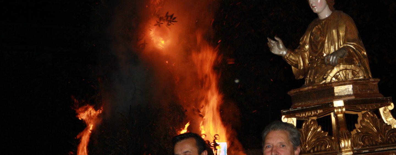 """""""Lumanerie"""", notte di falò a Lapio per celebrare Santa Caterina"""