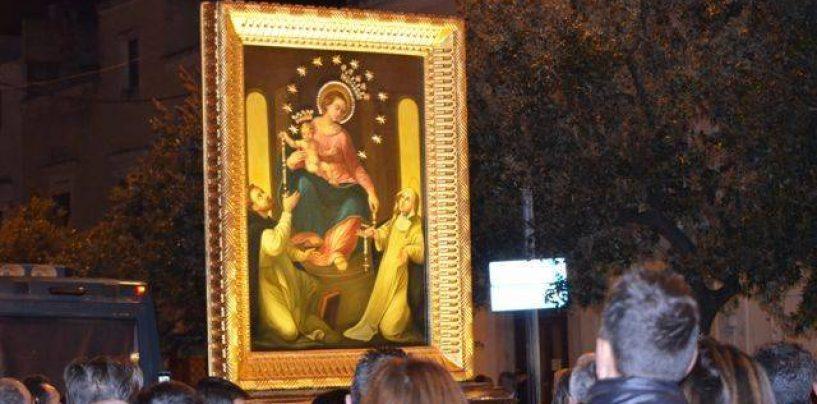 La Madonna di Pompei pellegrina a Banzano